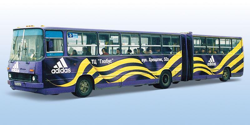Реклама на транспорті