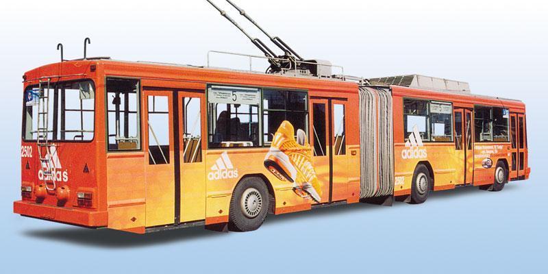 Реклама на громадському транспорті