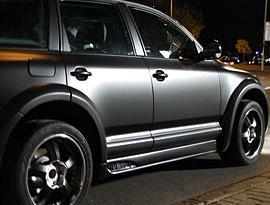 Тюнінг, стайлінг авто. Плівки матові чорні для обклеювання авто.