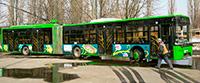Реклама на тролейбусах UEFA Euro-2012