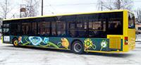 Реклама на автобусах UEFA Euro-2012