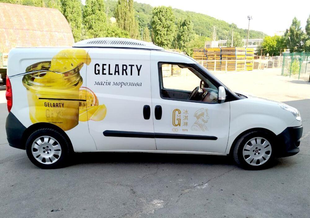 Оклейка авто виниловой пленкой для ТМ GELARTY