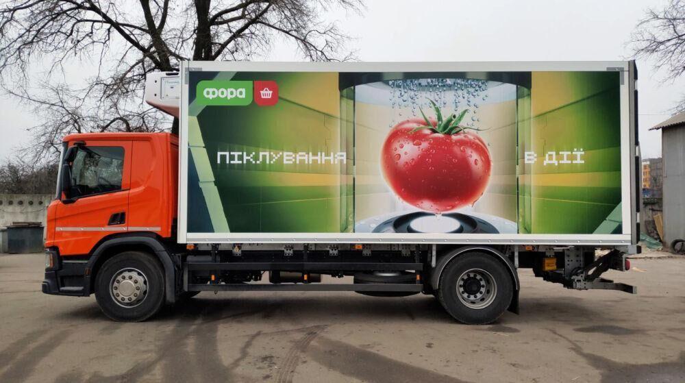 Оклейка авто виниловой пленкой для ТМ FORA